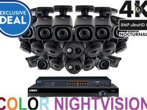 Audio Enabled Surveillance Camera Systems