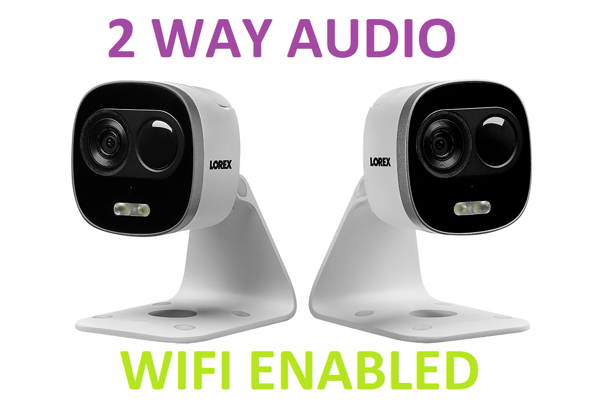 Lorex WIFI HD Home Security Camera 2 Way Audio 2YR WARRNTY - 2 Pack on mobile home storage, mobile home alarm systems, mobile surveillance cameras, wireless security cameras, mobile home parking, mobile home tools, mobile home intercom systems, barn security cameras, mobile home signs, mobile home mirrors, mobile home electrical, mobile home insurance, mobile home thermostats, industrial security cameras, mobile home photography, lease security cameras, mobile home financing program, mobile home vehicles, car security cameras,